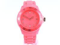 Kraftworxs Leucht-Uhr pink